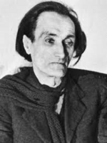 Lettre d'Antonin Artaud à Jean-Louis Barrault