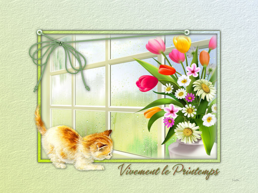 Fond d 39 cran vivement le printemps mcreations for Fond pour les photos