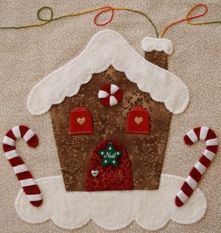 "Sampler ""Merry Christmas"" - étape 1 - zoom 2"