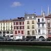 Les facades de Bayonne