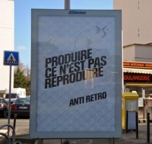 affiche Citroën rétro reproduire