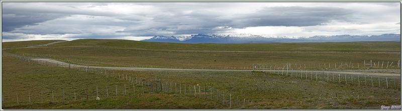 La Patagonie, une immensité sans bornes mais pas sans clôtures ! - Route vers El Calafate - Argentine