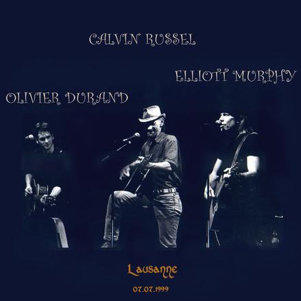 Elliott et ....Calvin - Lausanne - 7 Juillet 1999
