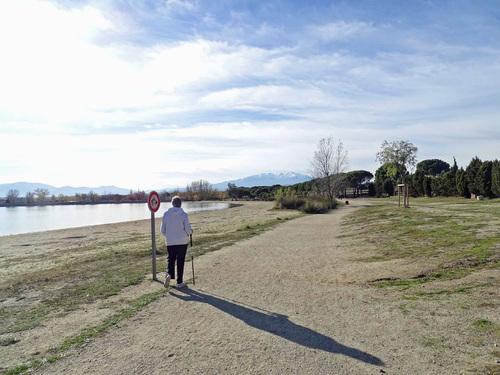 Le Tour du Lac de Villeneuve-de-la Raho