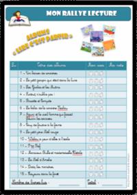"""Rallye Lecture - Les albums """"Lire c'est partir"""""""