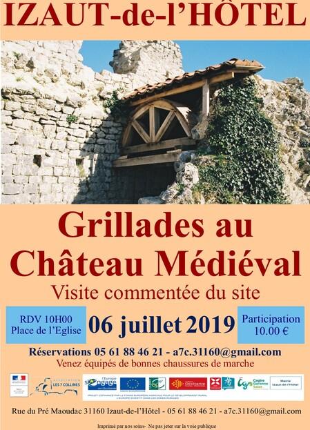 2019 : Grillades au château