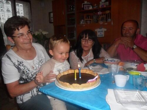 L'anniversaire de mon loulou !