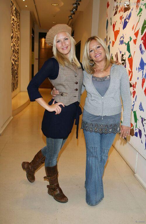 Charlène Tilton et sa fille Cherish Lee