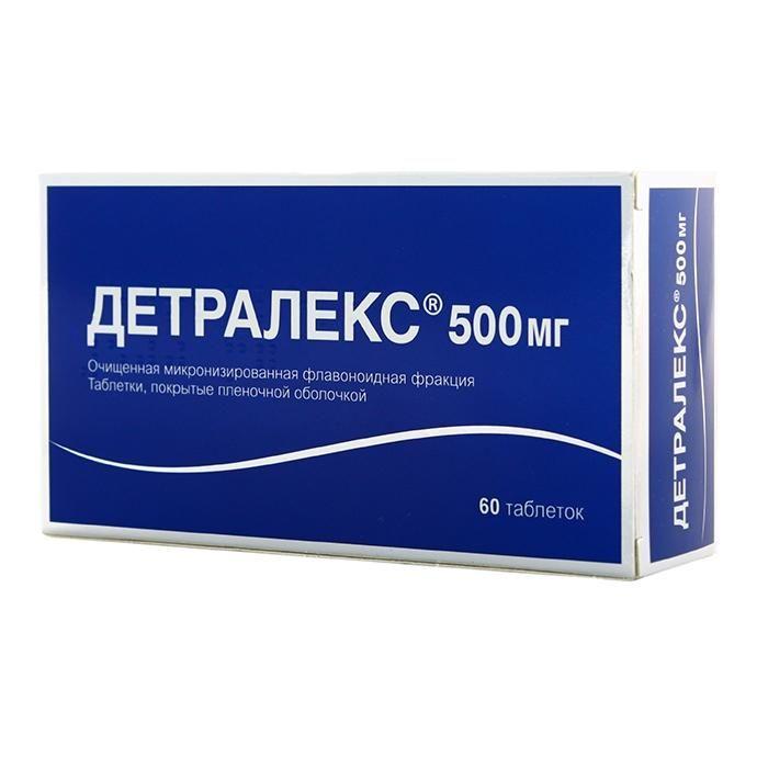 Детралекс 500 инструкция по применению при геморрое