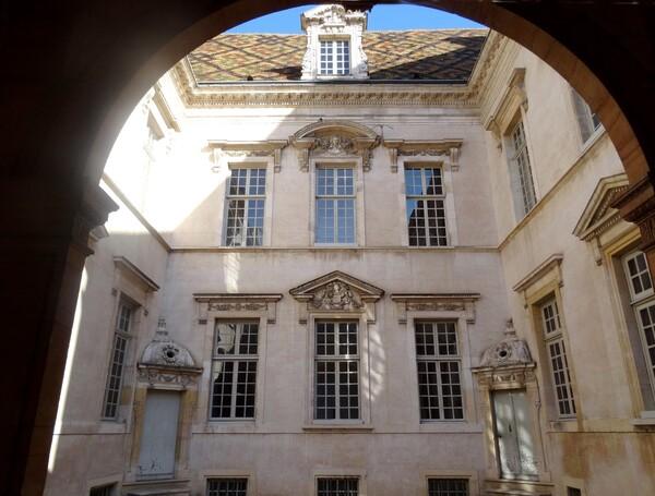 L'hôtel particulier de Vogüé à Dijon