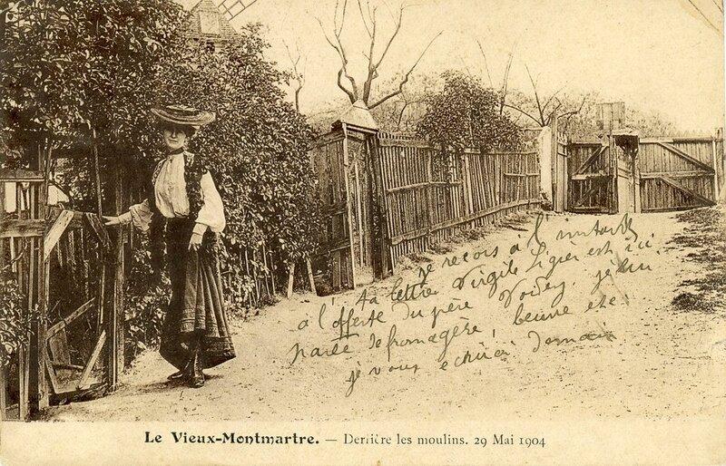 Montmartre : L'ancien Maquis et Villa Léandre