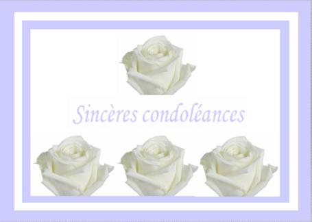 """Résultat de recherche d'images pour """"condoléances musique  à ses proches"""""""