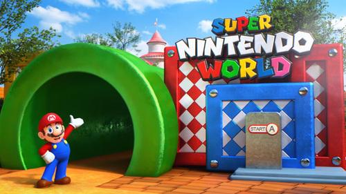 Super Nintendo World au parc Universal Studios a commencé !