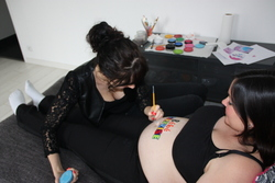 Séance Belly Painting!