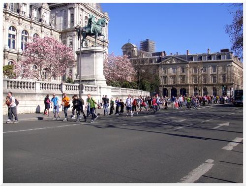 Roller dans les rues de Paris 14 mars 2014