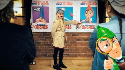 Gloria (Kids United), Dylan et Ilyana mènent l'enquête avec SHERLOCK GNOMES dans une vidéo inédite !