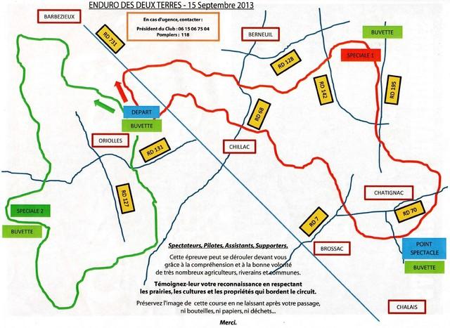 Blog de sylviebernard-art-bouteville : sylviebernard-art-bouteville, Enduro des deux terres CHILLAC (16) 15 septembre 2013