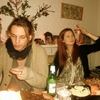 Jamie Campbell Bower et Bonnie Wright (Ginny dans HP)
