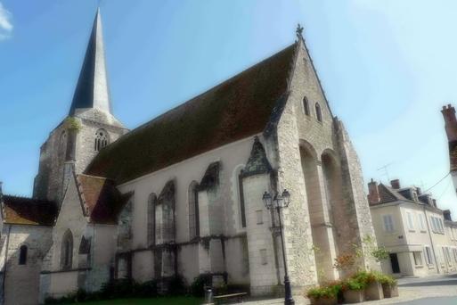 L'église Saint-Christophe-et-Saint-Phalier, en 2012.