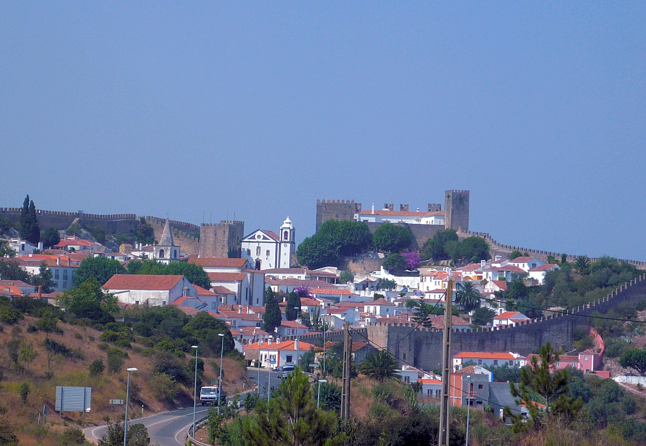 arrivée Obidos Portugal