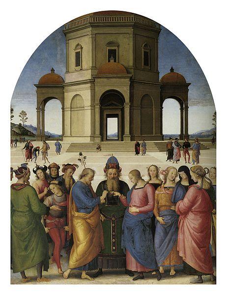Les fiançailles de la Vierge Marie