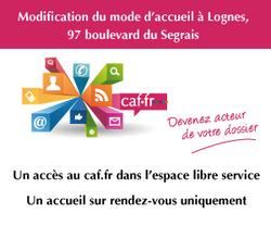 la Caf de Seine-et-Marne a modifié ses modalités d'accueil
