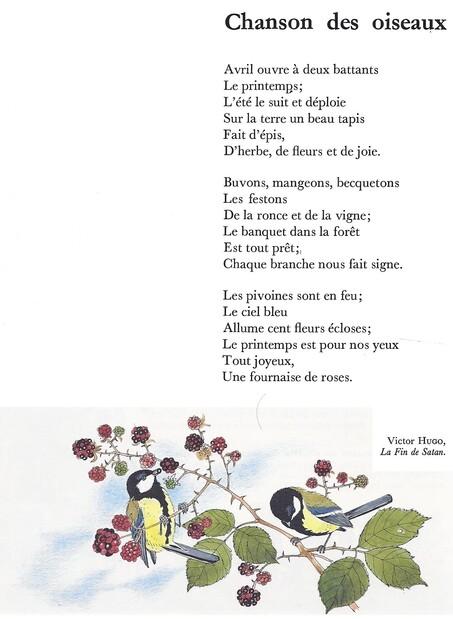 """Défi '' Poème """""""