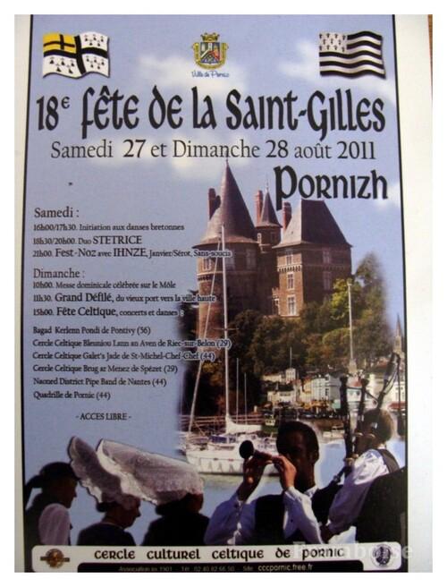 Pornic Fête de la Saint- Gilles