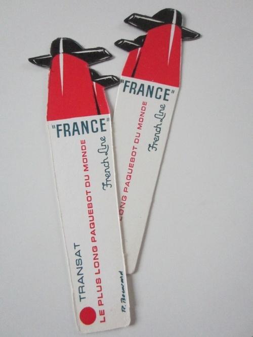 Souvenirs du Normandie et du France