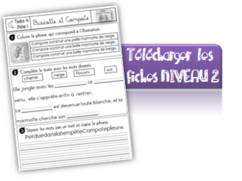 Biscotte Compote : tapuscrit et fiches de lecture CP