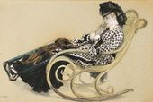 Study for 'The Last Evening' - James Jacques Joseph Tissot - www.jamestissot.org