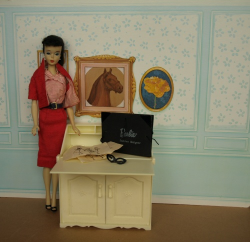 Vintage Barbie : Busy Gal