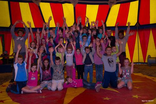 Camp Arts du Cirque Répétition