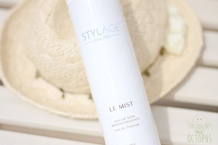 L'eau de Treignac - Mist Stylage Skin Pro - Magic Octopus Blog