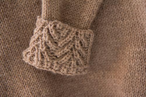 Mylène - Tricot : Pull Saglionis, Knit test