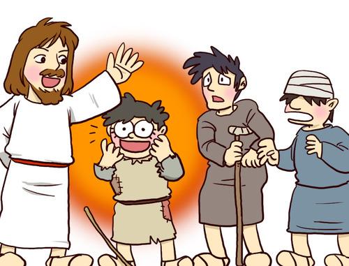 Jésus fait des miracles! (visuels)