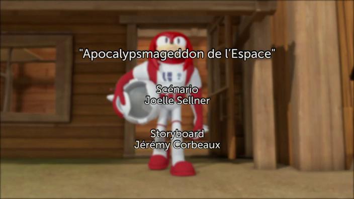 Sonic Boom - 2x02 - Apocalypsmageddon de l'espace