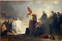 Lecture de la sentence des condamnations, A.E Fragonard, Musée Magnin / RMN