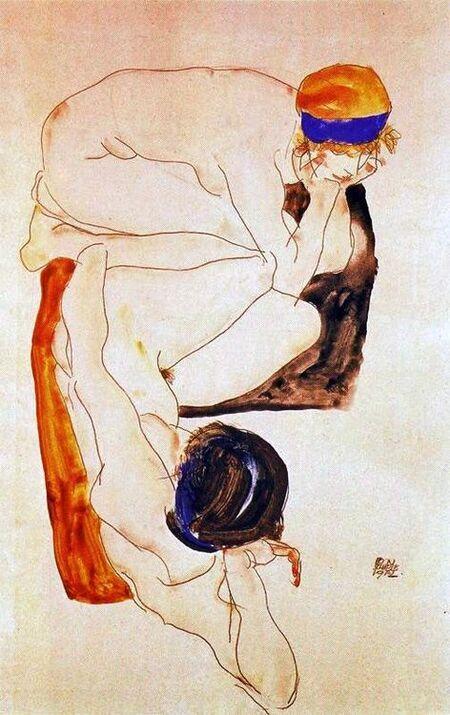 Samedi - Egon Schiele, un grand artiste.