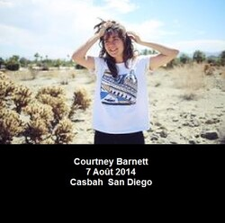 Live : Courtney Barnett - 7 août 2014 - San Diego