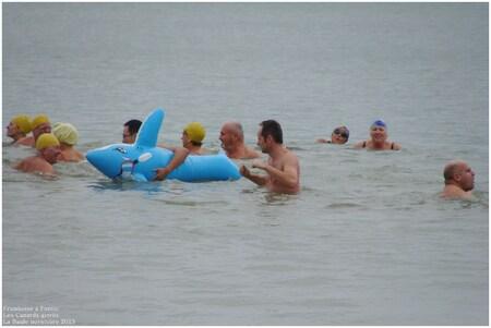 Les canards givrés à la Baule 2013