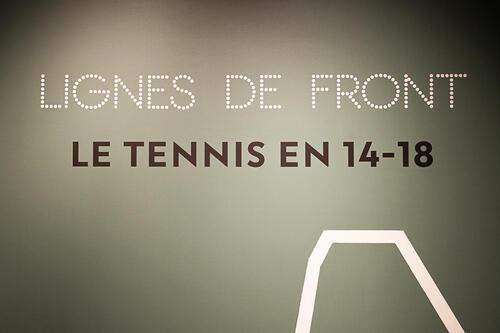 Le tennis, la guerre