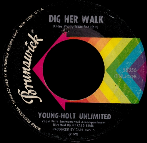 Young-Holt Unlimited : Single SP Brunswick Records 55356 [ US ]