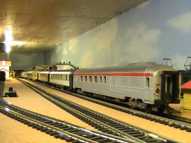 Réseau Moulinsard II - Session Hornby Acho - Les trains de voyageurs 1° Partie.