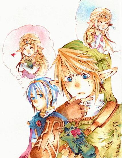 Link x Zelda *^*