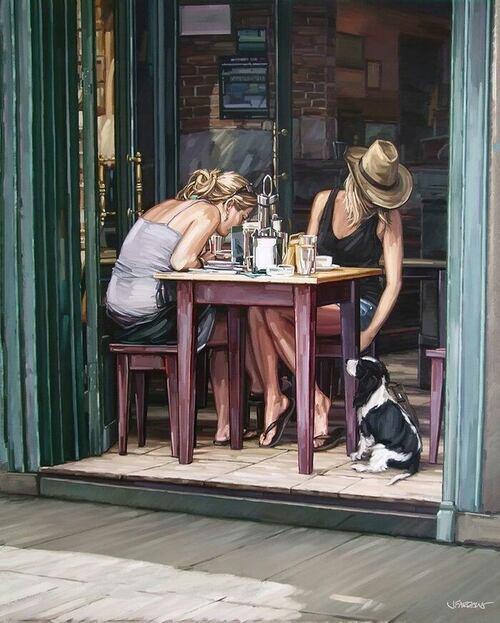 FARRANT, Jim, peintre anglais (Vidéo) (Art-Peintures)