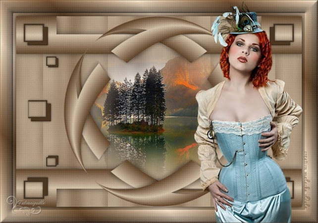 ST0009 - Tube femme steampunk