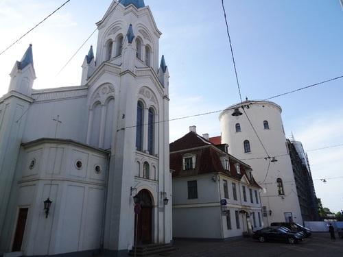 Autour du châteu de Riga (photos)