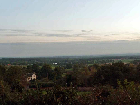 Vézelay - Le Puy en Velay 2010  - Saint Leon - Arfeuilles (37km)