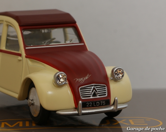 Citroën 2cv Margot Minialuxe